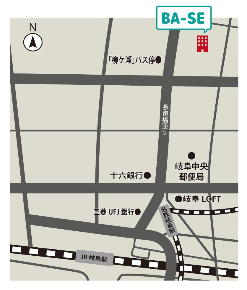 ベースの地図